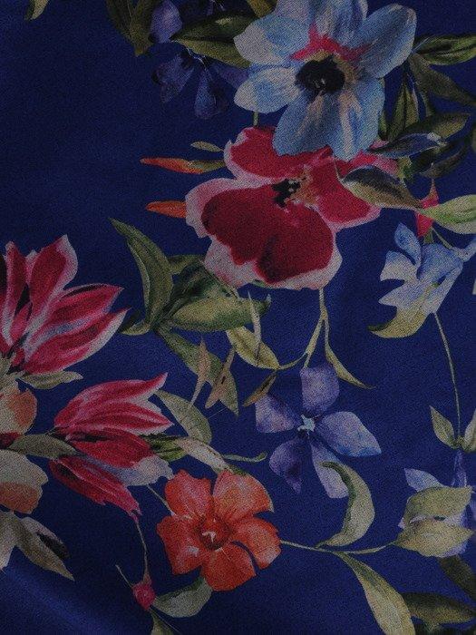 Luźna tunika z modnym szalem/paskiem 19451