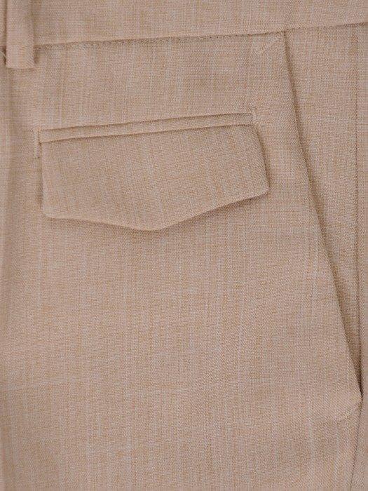 Beżowe spodnie damskie Tamara.