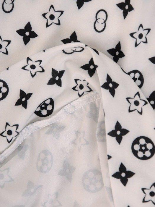 Bluzka damska w geometrycznym wzorze 26536