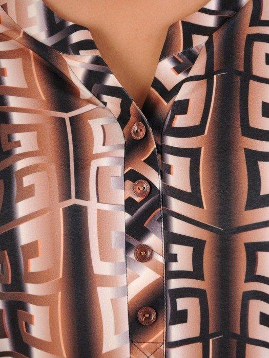 Bluzka damska w modnym wzorze 26615