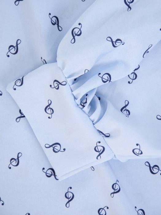 Bluzka damska z przedłużanym tyłem 29483