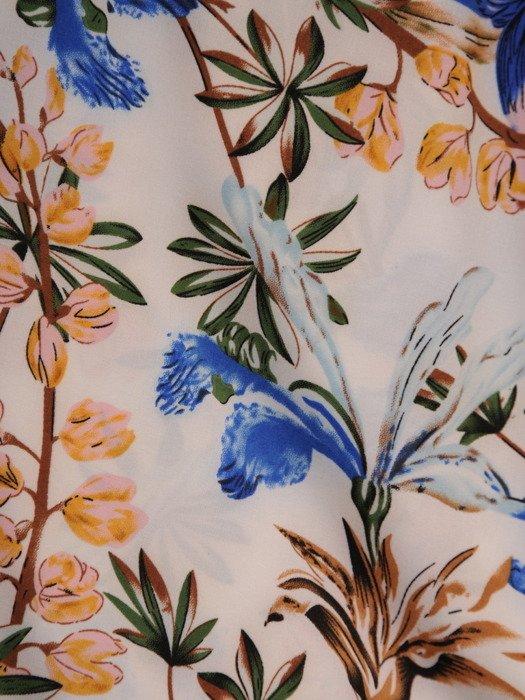 Bluzka w kwiaty 15586.