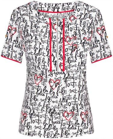 Bluzka w modnym wzorze Palmira III.