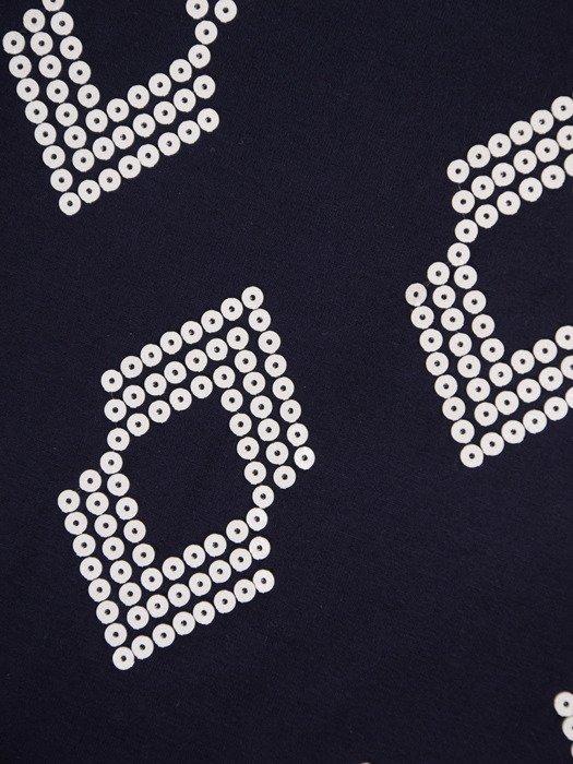 Bluzka z cekinowym wzorem Alena II
