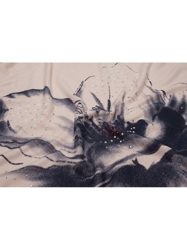 Bluzka z koronkowym wykończeniem 16088.