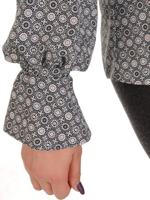 Bluzka ze stylowym żabotem Felicja I