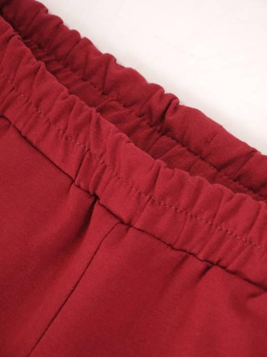 Bordowy dres damski, wygodne spodnie z bluzą zapinaną na zamek 29449