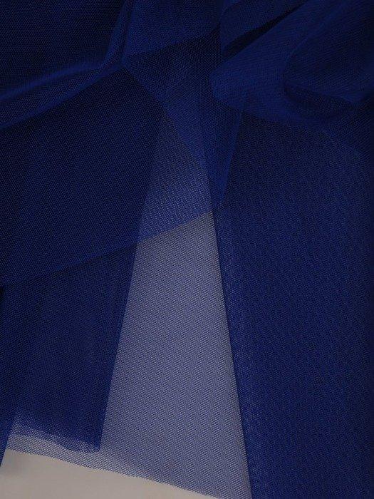 Chabrowa sukienka gorsetowa, kreacja z tkaniny i tiulu 24906