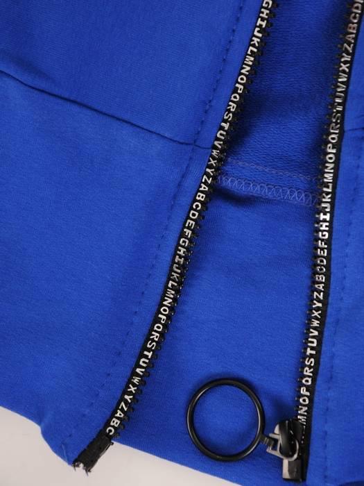 Chabrowy dres damski, wygodne spodnie z bluzą zapinaną na zamek 29446