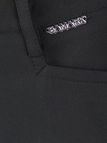 Czarne spodnie w nowoczesnym fasonie Nadia.