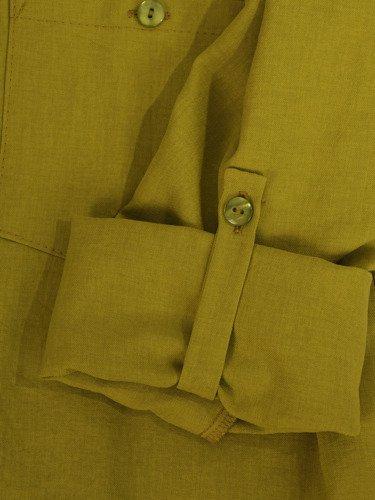 Długa, luźna koszula z kołnierzykiem 16353.