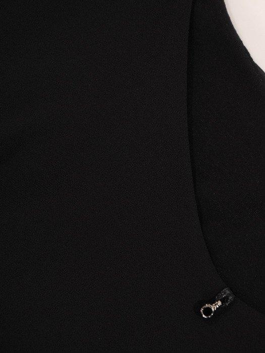 Dwuwarstwowa bluzka z szyfonowymi rękawami Stella IV