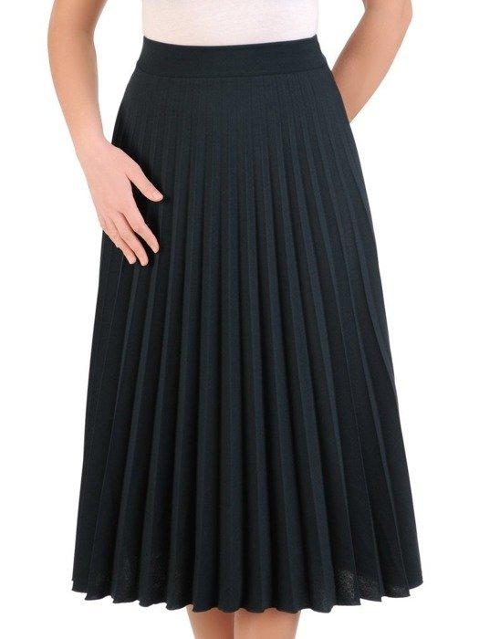 Dzianinowa, plisowana spódnica 25259
