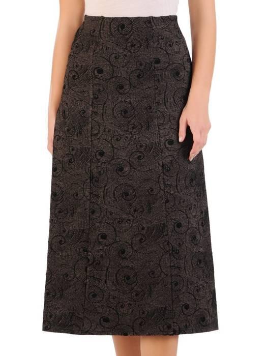 Dzianinowa spódnica damska na jesień 27085