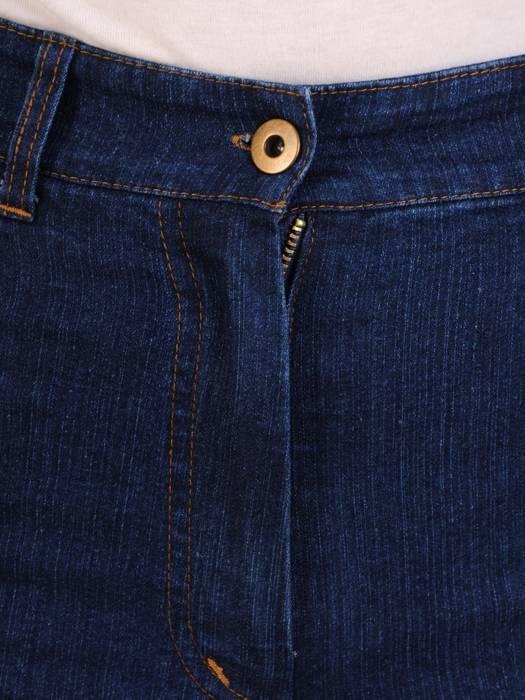 Dżinsowe spodnie z prostymi nogawkami 29139