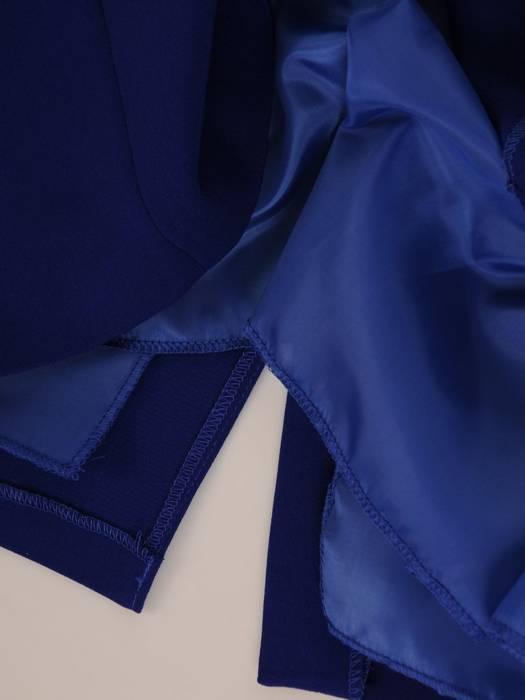 Elegancka garsonka w kolorze chabrowym 27074