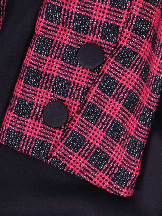 Elegancka sukienka na wyjście, kreacja w asymetrycznym fasonie 30822