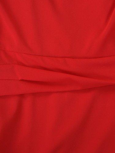 Elegancka sukienka trapezowa Wiwien II, szyfonowa kreacja na wesele.