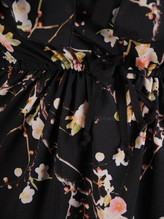Elegancka sukienka wyjściowa z odkrytymi ramionami 26745