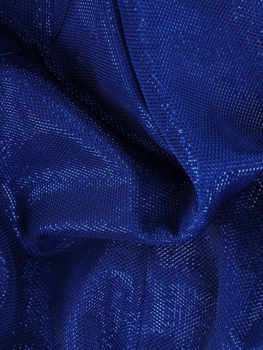 Elegancki żakiet z błyszczącej tkaniny 26009