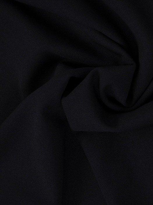 Granatowa sukienka wyszczuplająca, kreacja z szyfonową narzutką 24016