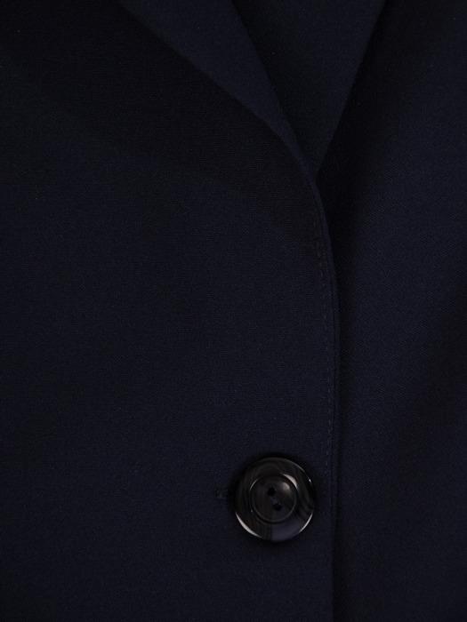Granatowy żakiet zapinany na guzik 21049