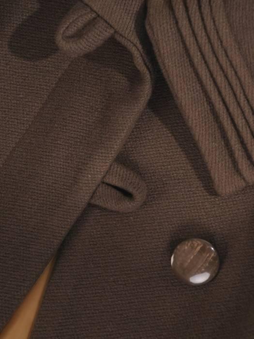 Gustowny płaszcz damski, wełniane okrycie na zimę 27802
