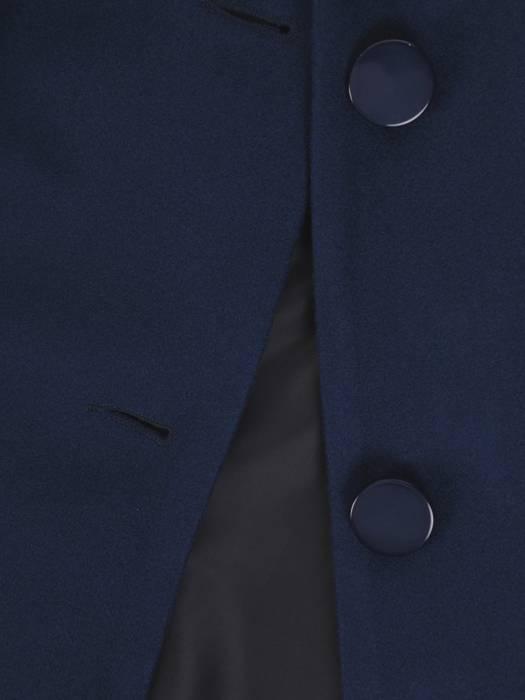 Jesienny płaszcz damski zapinany na guziki 27103