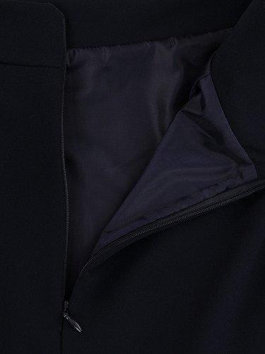 Klasyczna spódnica w kolorze granatowym Helga III.