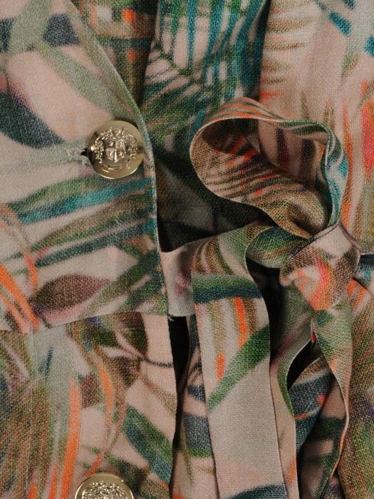 Kopertowa sukienka z modnym, dwurzędowym zapięciem 20992