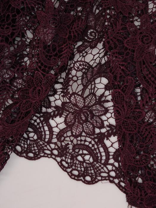 Kostium damski, elegancka sukienka z koronkowym bolerkiem 23155