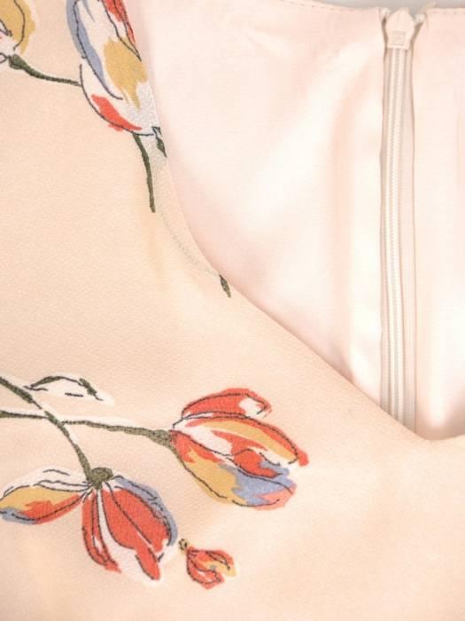Kostium damski, zwiewna sukienka z żakietem 29390