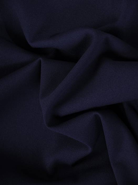 Luźna, granatowa sukienka maskująca wszelkie niedoskonałości 27956