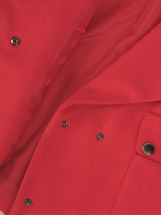 Modna krótka kurtka z kieszeniami 28724