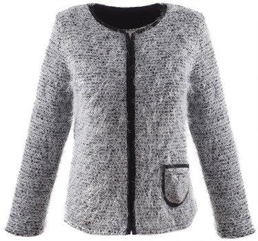 Modny sweter z kieszonką Marzena.