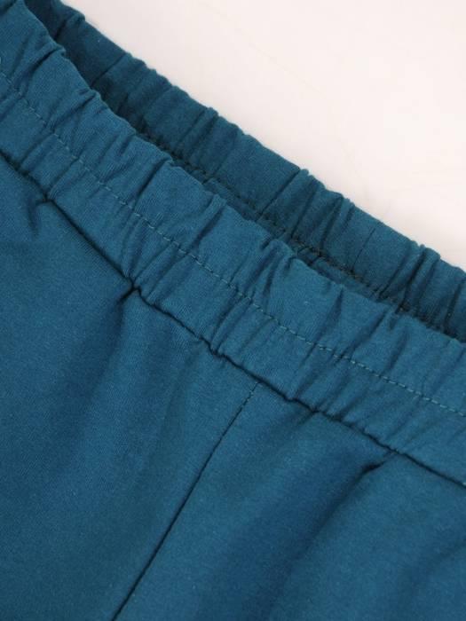 Morski dres damski, wygodne spodnie z bluzą zapinaną na zamek 29641
