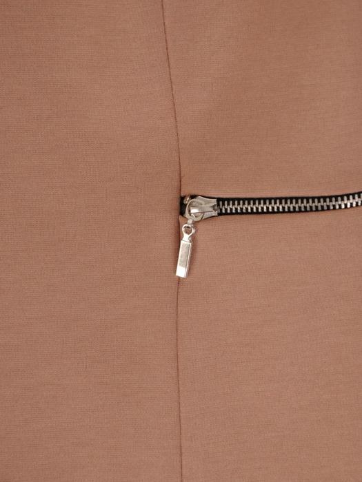 Nowoczesny żakiet z metalowymi suwakami 20414
