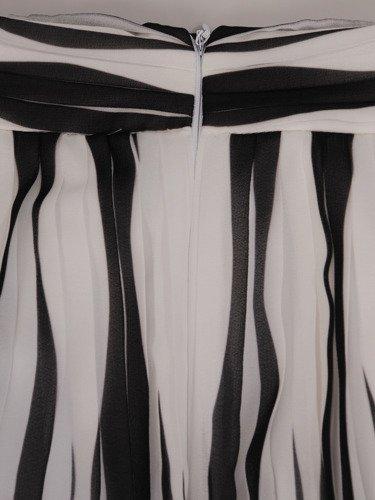 Plisowana spódnica z szyfonu 16383.