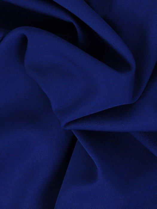Prosta sukienka z kopertowym dekoltem, kreacja z koronkowym topem 22545