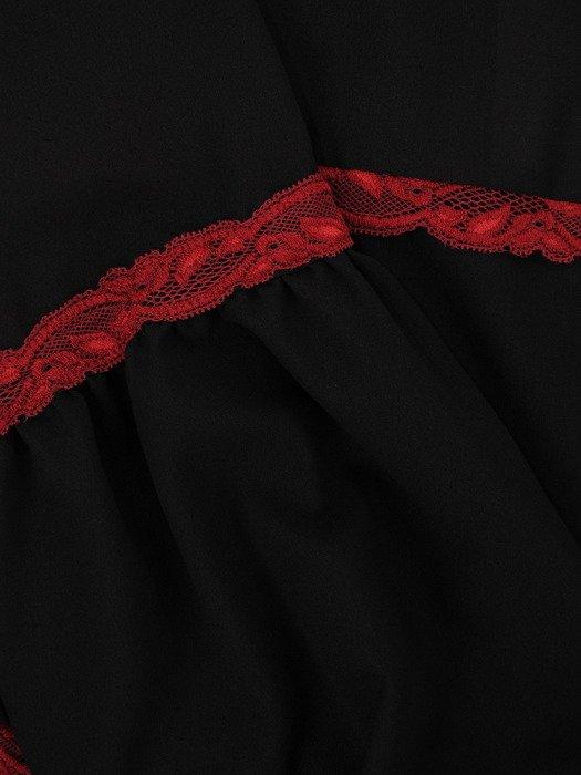 Romantyczna bluzka z koronkowymi wstawkami 18715