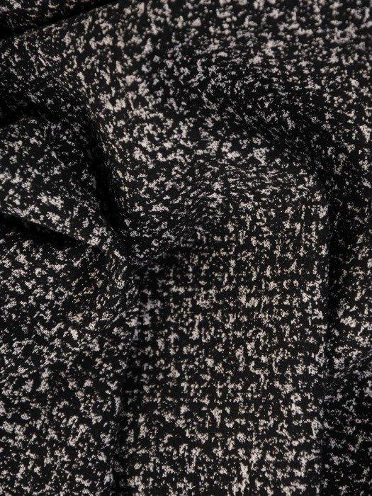 Rozkloszowana sukienka z modną kontrafałdą, kreacja z paskiem 24044
