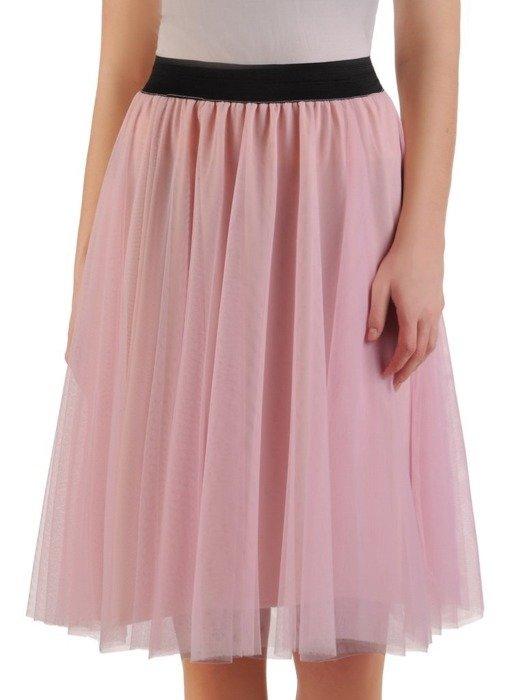 Różowa tiulowa spódnica 24895