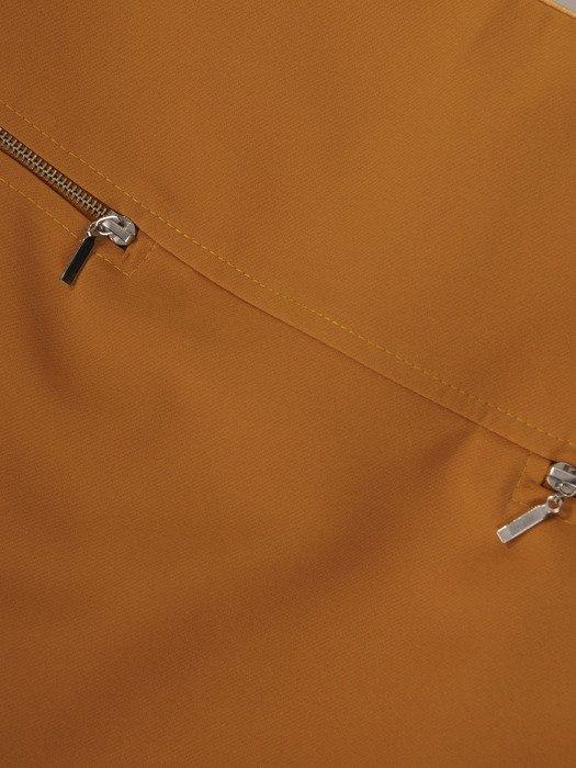 Spódnica ozdobiona suwakami Łucja IV.