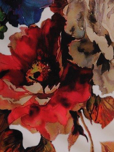 Sukienka damska 15843, wiosenna kreacja w kwiaty.