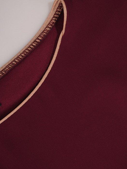 Sukienka damska 18356, elegancka kreacja w nowoczesnym fasonie.