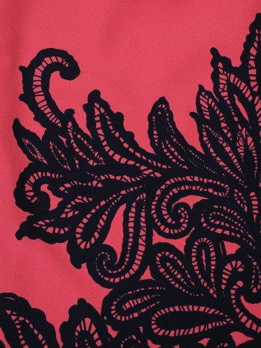 Sukienka damska Amanda I, wiosenna kreacja w oryginalnym wzorze.