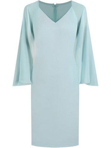 Sukienka damska Arieta, wiosenna kreacja w pastelowym kolorze.