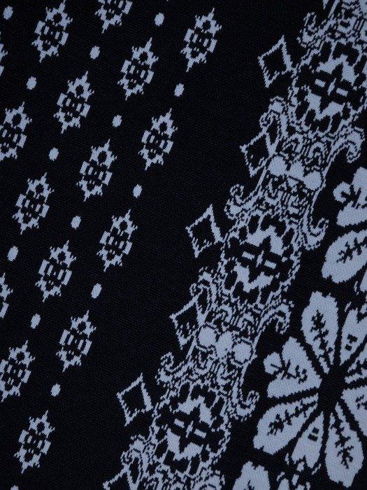 Sukienka damska Dalida V, jesienna kreacja w wyszczuplającym wzorze.