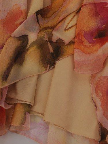 Sukienka damska Giuliana II, zwiewna kreacja z szyfonu.