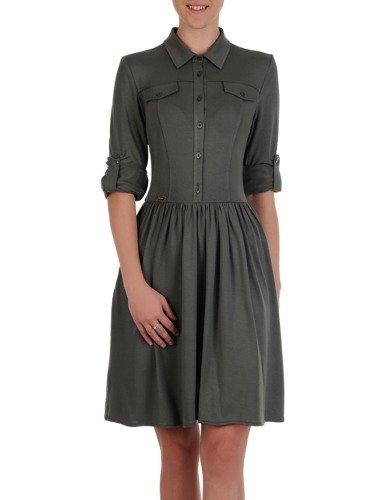 Sukienka damska Harper II, wiosenna kreacja z dzianiny.